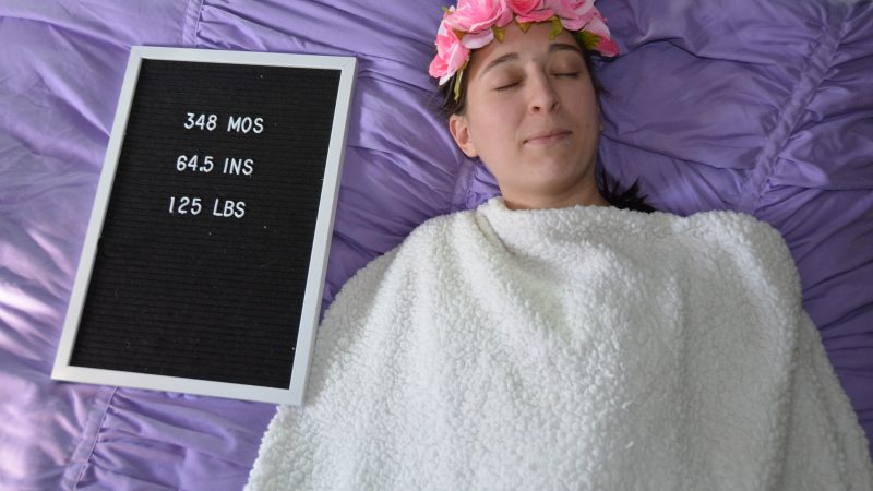 MASSEUSE CELEBRATES 29TH BIRTHDAY WITH HILARIOUS BABY INSPIRED PHOTOSHOOT Image