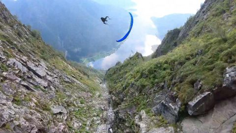 ADRENALINE-FUELLED CLIP SHOWS SPEED FLYERS SOAR THROUGH STUNNING NORWEGIAN COUNTRYSIDE Image