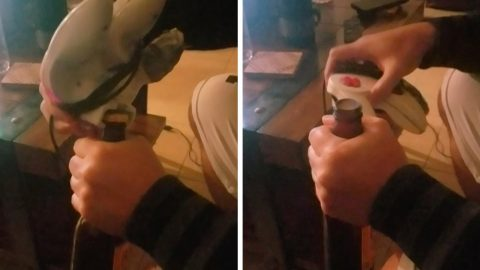EAGLE-EYED GAMER SHOWCASES THE N64 CONTROLLERS TALENT AS A HANDY BOTTLE OPENER Image