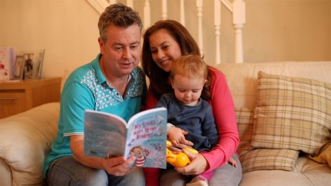DAD OF MIRACLE BABY BORN AFTER NINE ROUNDS OF IVF COSTING £60,000 PUBLISHES CHILDREN'S BOOK TO CELEBRATE Image