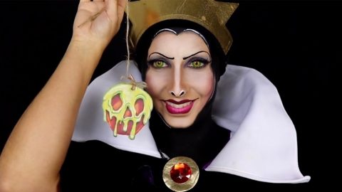 MIRROR MIRROR ON THE WALL: TALENTED MAKE-UP ARTIST TRANSFORMS HERSELF INTO EVIL QUEEN FROM DISNEY'S ICONIC SNOW WHITE AND THE SEVEN DWARFS Image