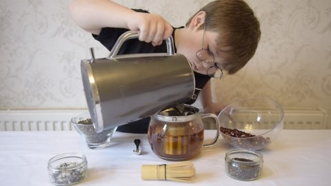 TEA-MAD AUTISTIC EIGHT-YEAR-OLD CAN ALREADY MAKE 60 DIFFERENT LUXURY BLENDS – AND NOW PLANS TO OPEN OWN TEA BAR STAFFED BY PEOPLE WITH DISABILITIES Image