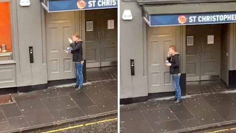 MAN WITH INCREDIBLY PREDICTABLE ROUTINE DETAILED IN VIRAL VIDEO Image