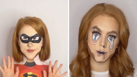 MEET THE SELF-TAUGHT MAKE-UP ARTIST THAT CAN TRANSFORM HERSELF INTO YOUR FAVOURITE FILM CHARACTER USING ONLY MAKE-UP Image