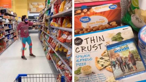STOP! THIS COUPLE MIXES THINGS UP BY RANDOMLY SELECTING DATE NIGHT SNACKS Image