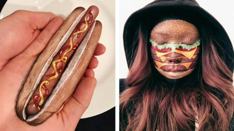 GOOD ENOUGH TO EAT! ARTIST TURNS BODY PARTS INTO FOOD ITEMS THAT YOU'D NEVER GUESS AREN'T REAL Image