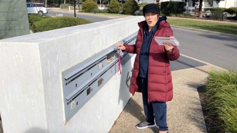 GRANDMOTHER WHO FELT LONELY DURING ISOLATION RECEIVES OVER 600 LETTERS FROM KIND STRANGERS AROUND THE WORLD AFTER HER DAUGHTER'S HEARTFELT PUBLIC PLEA Image