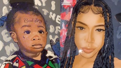 TEEN TURNS MODERN R&B ALBUMS INTO FULLY FLEDGED PAINTINGS Image