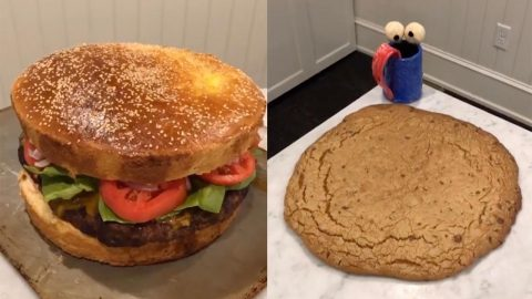 YOUNG CHEF SHOWS HOW TO MAKE INCREDIBLY HUGE MEALS AND SWEETS Image
