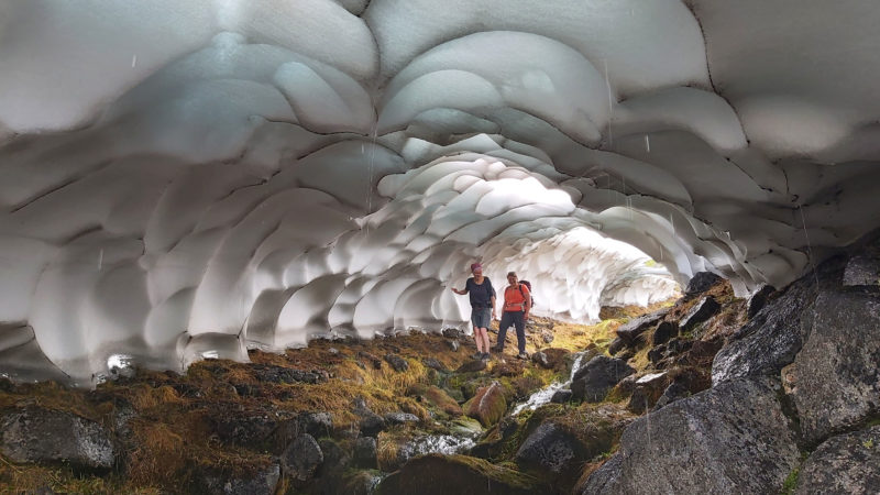 INCREDIBLE SCOTTISH CAIRNGORMS SNOW TUNNELS CAPTURED BY EXPLORER Image