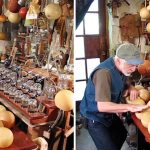 INVENTIVE MUSICIAN SHOWS A LOT OF BOTTLE BY CREATING MUSICAL ORGAN FROM HOMEMADE BALLS AND GLASS BOTTLES