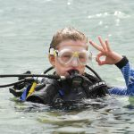 Brave Schoolgirl 'youngest In World' To Free Dive With Sharks